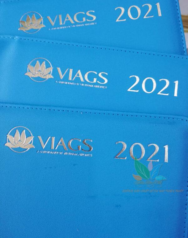 Sổ Bìa Da logo VAGS